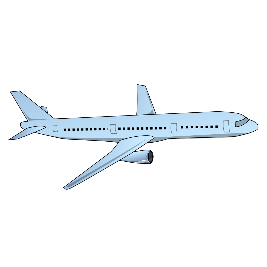 Aircraft Airplane SVG Clip arts