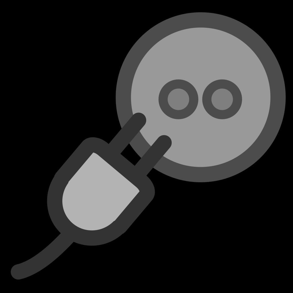 Power Plug Outlet SVG Clip arts