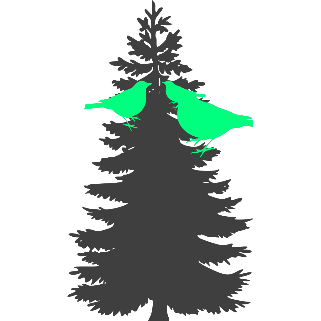 Bird Family 3 SVG Clip arts