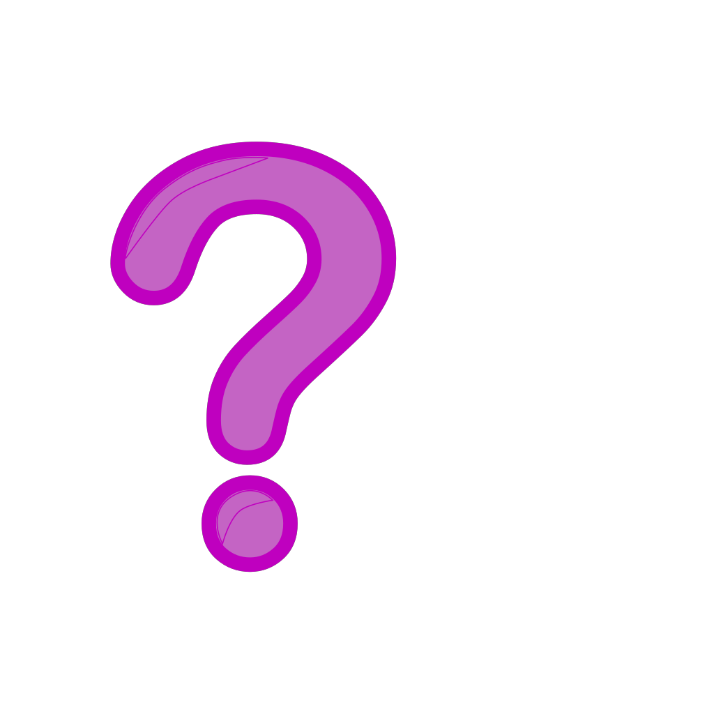 Question Mark Icon SVG Clip arts