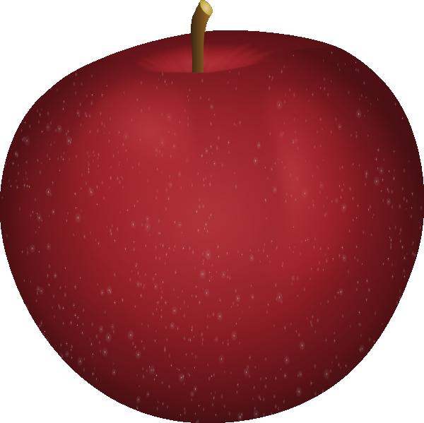 Red Apple SVG Clip arts
