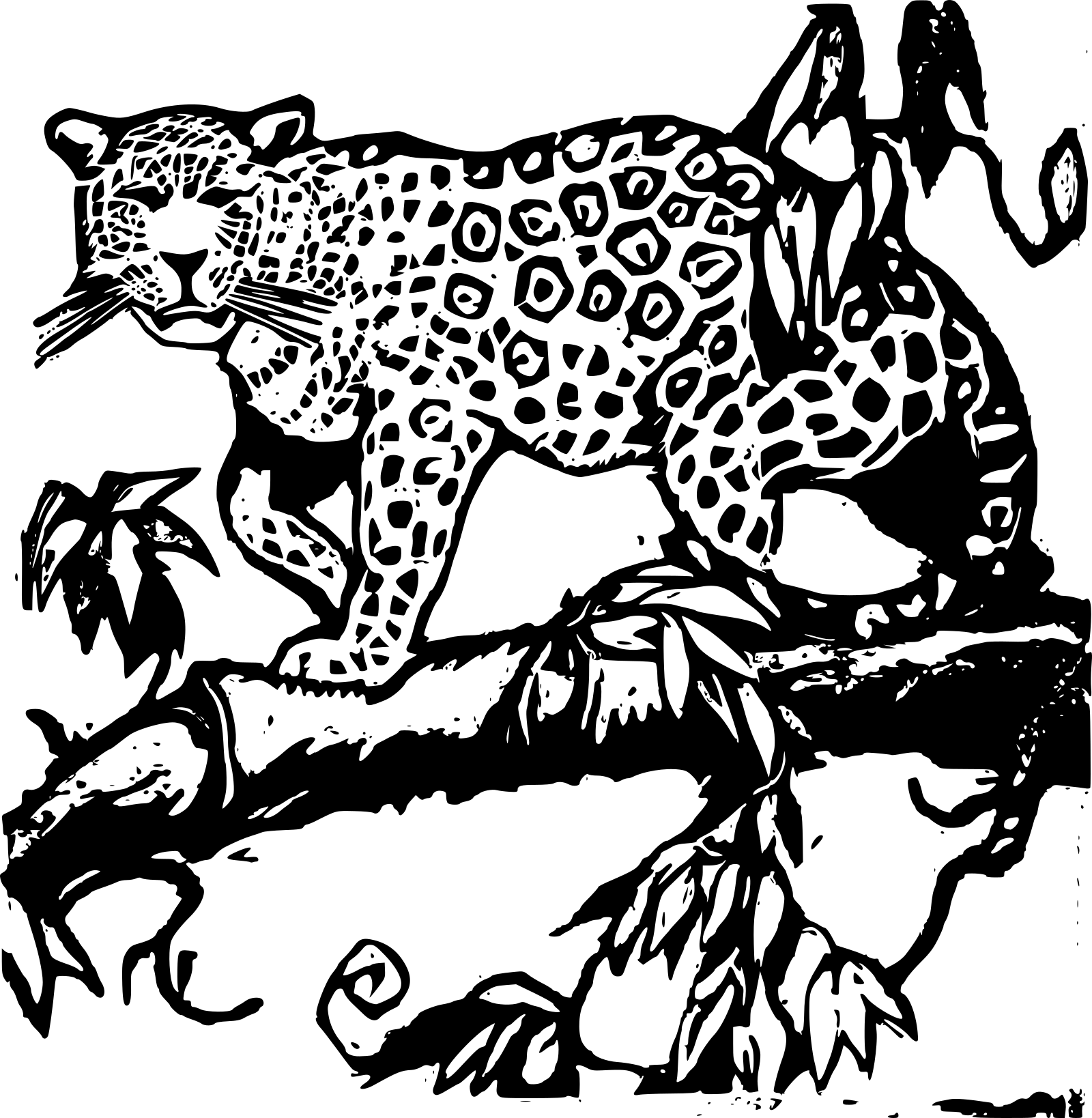 Jaguar SVG Clip arts