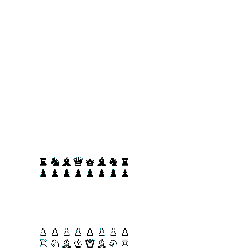 Chess Board And Pieces SVG Clip arts
