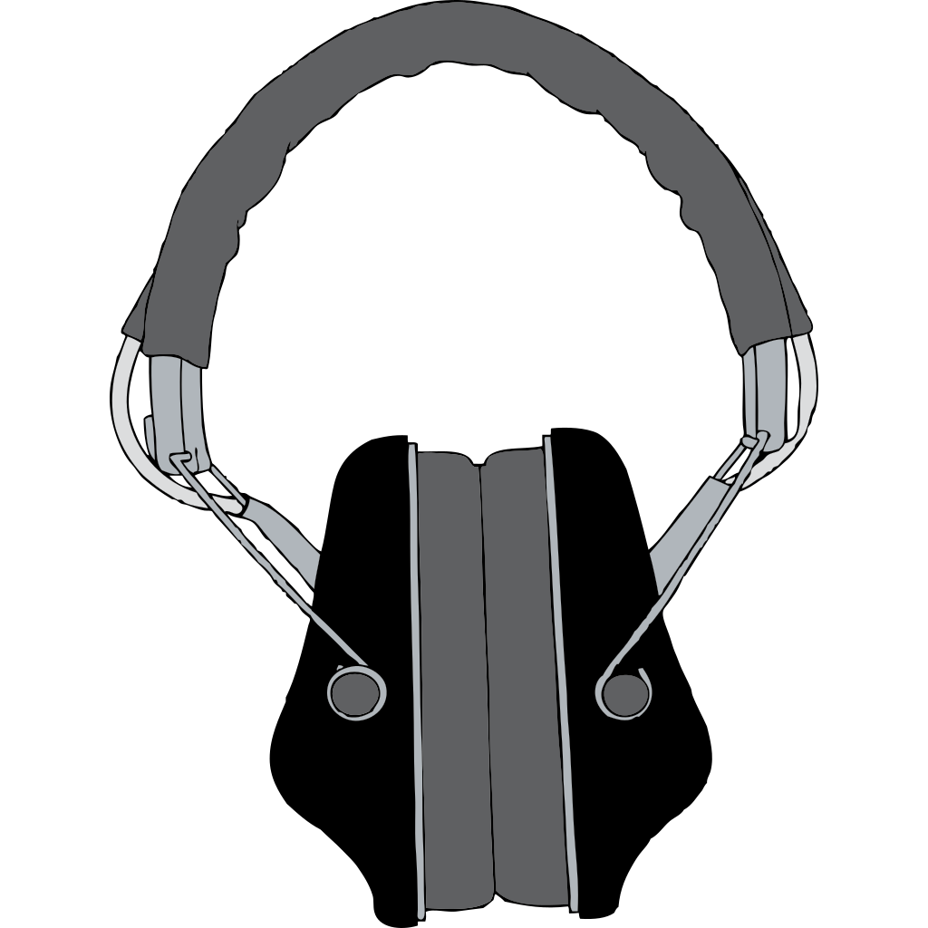 Headphones SVG Clip arts