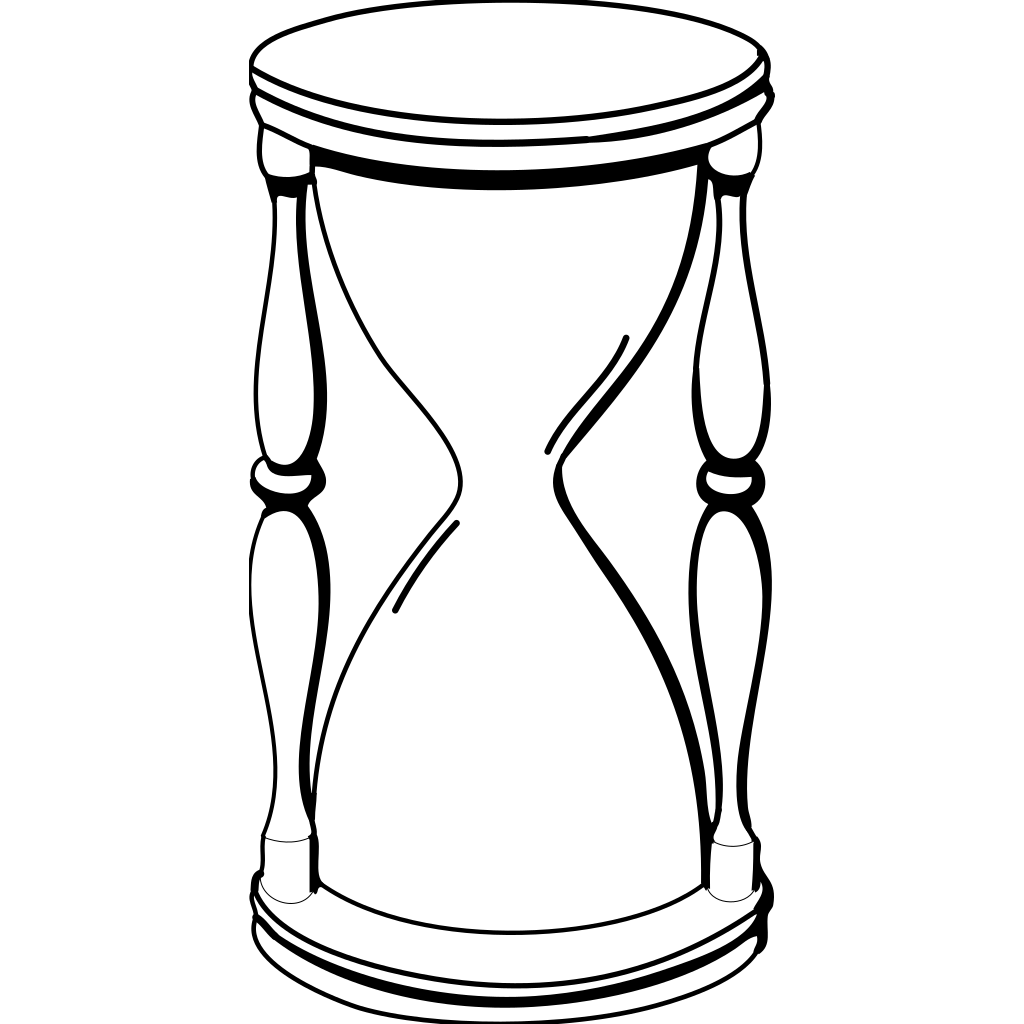 Hourglass SVG Clip arts