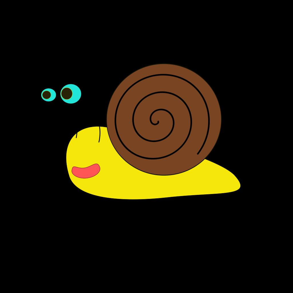 Snail 3 SVG Clip arts
