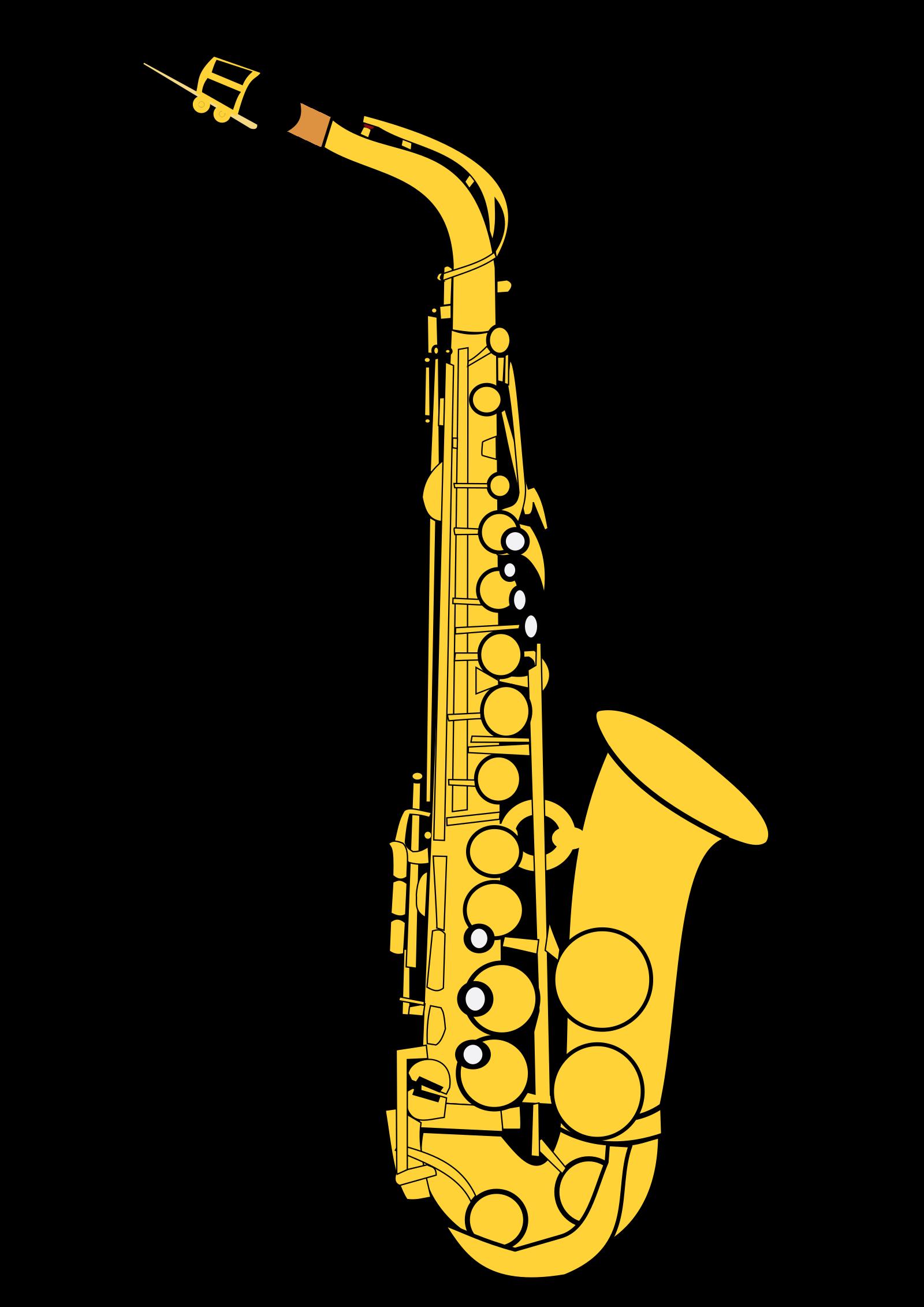 Saxophone SVG Clip arts