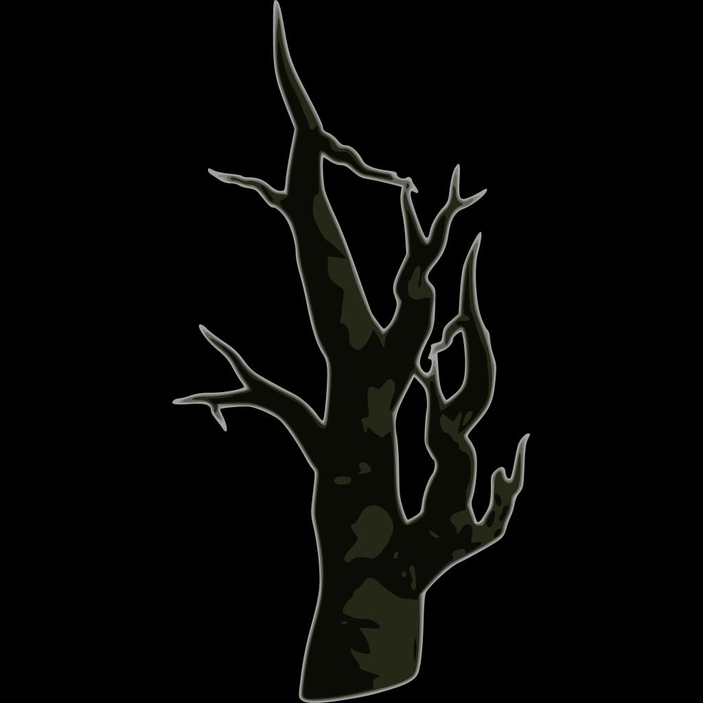 Bare Dead Tree SVG Clip arts