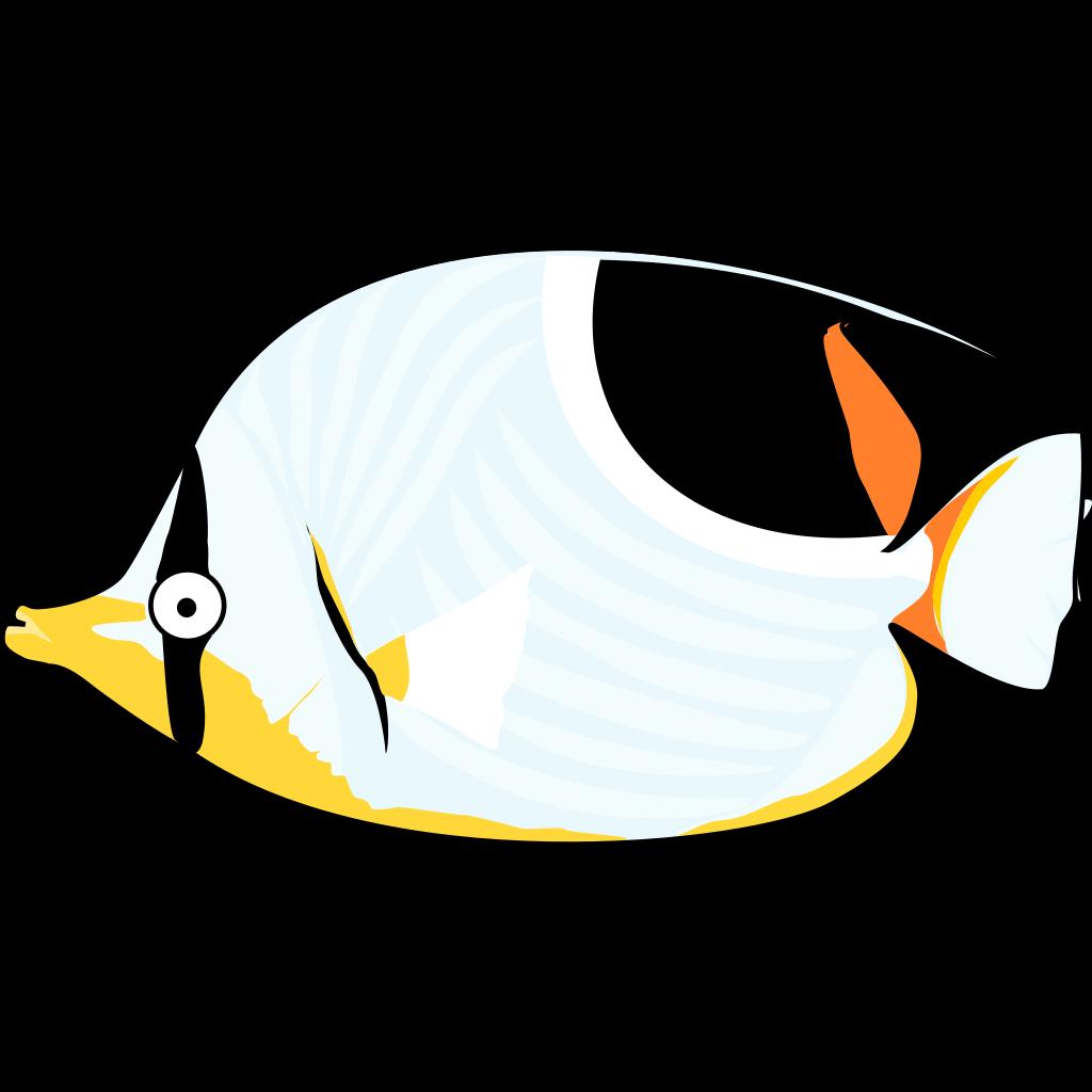 Tropical Fish SVG Clip arts