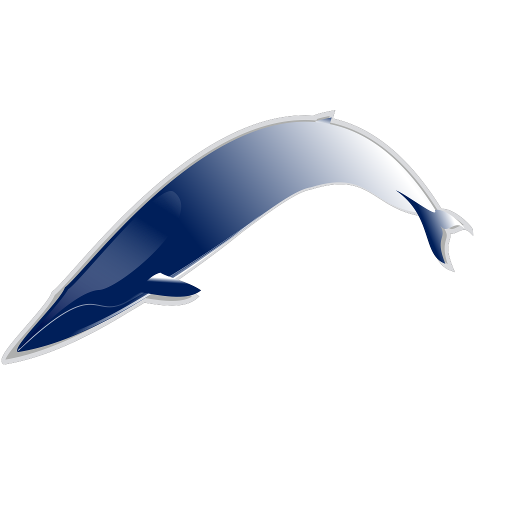 Bluewhale Md SVG Clip arts