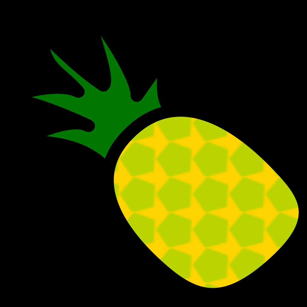 Simple Fruit Ff Menu SVG Clip arts