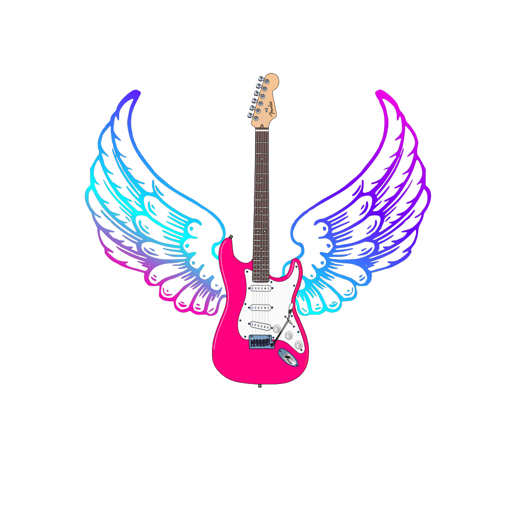 Guitar SVG Clip arts