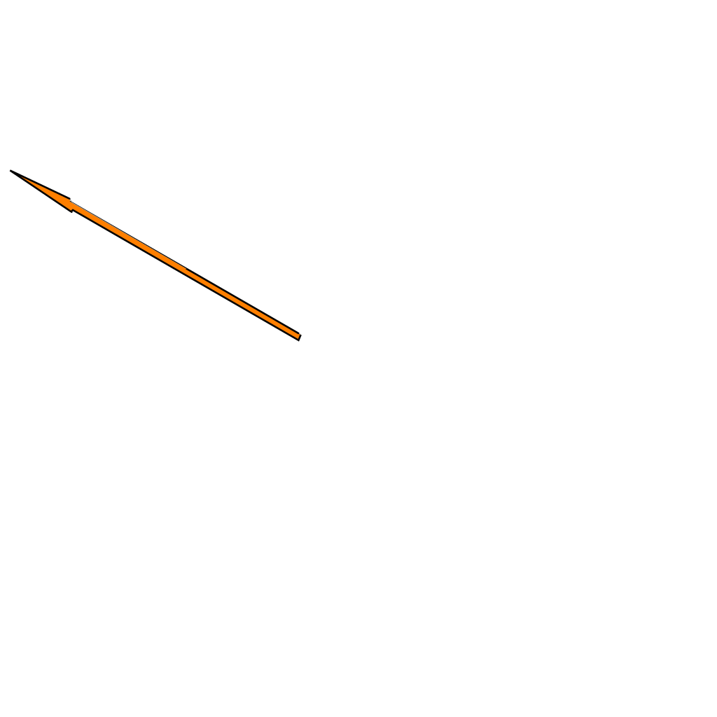 Arrow down blue SVG Clip arts