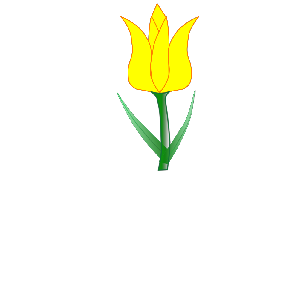 Tulip SVG Clip arts