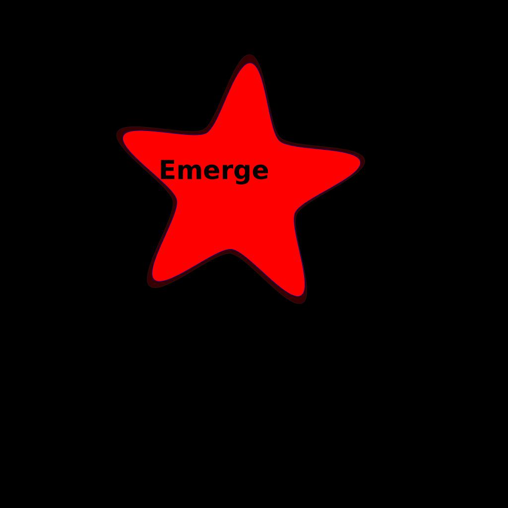 Addon Red Starfish SVG Clip arts