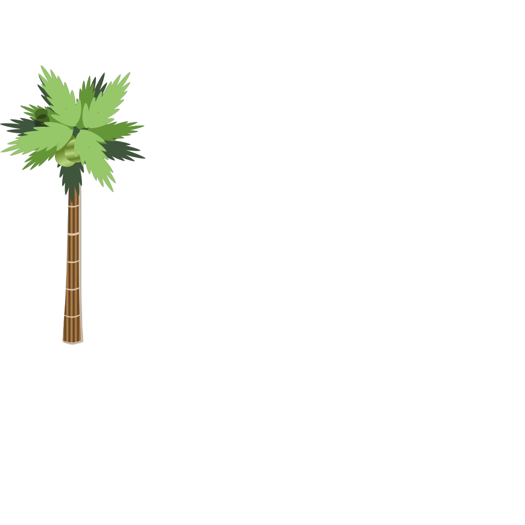 Palm Tree SVG Clip arts