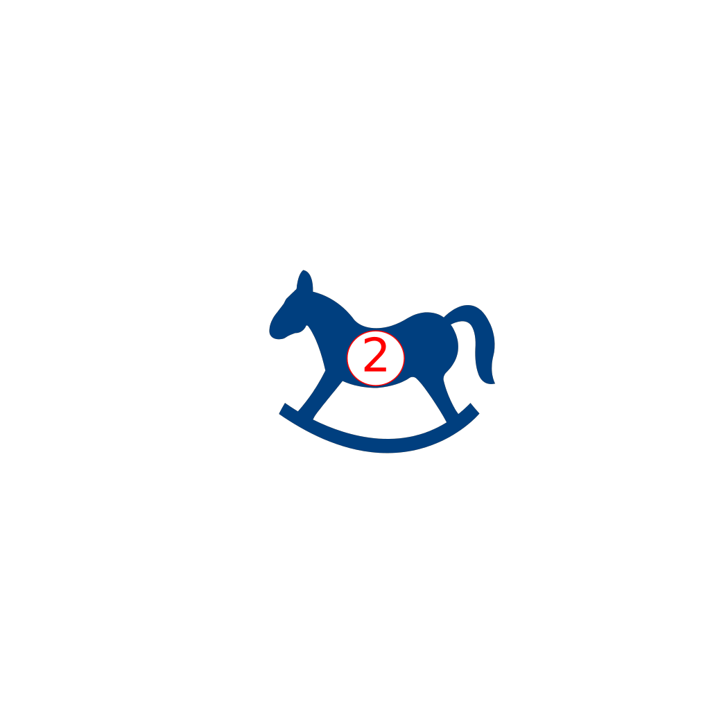 Rocking Horse SVG Clip arts