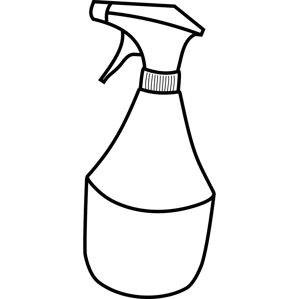 Squirt Bottle SVG Clip arts