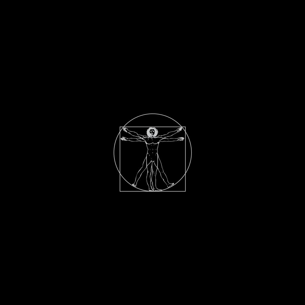 Vitruvian Man SVG Clip arts