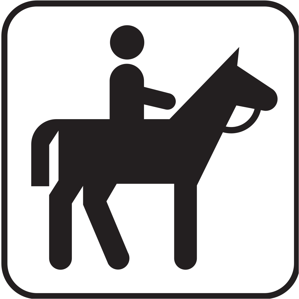 Horse Back Riding 1 SVG Clip arts