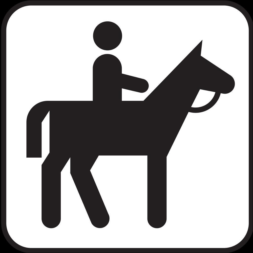 Horse Back Riding 1 SVG Clip arts