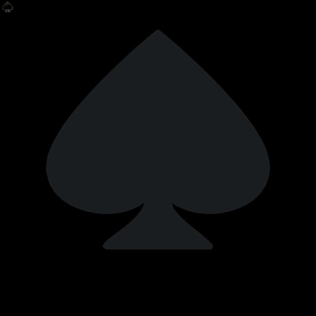 Rocket Emblem Spade SVG Clip arts