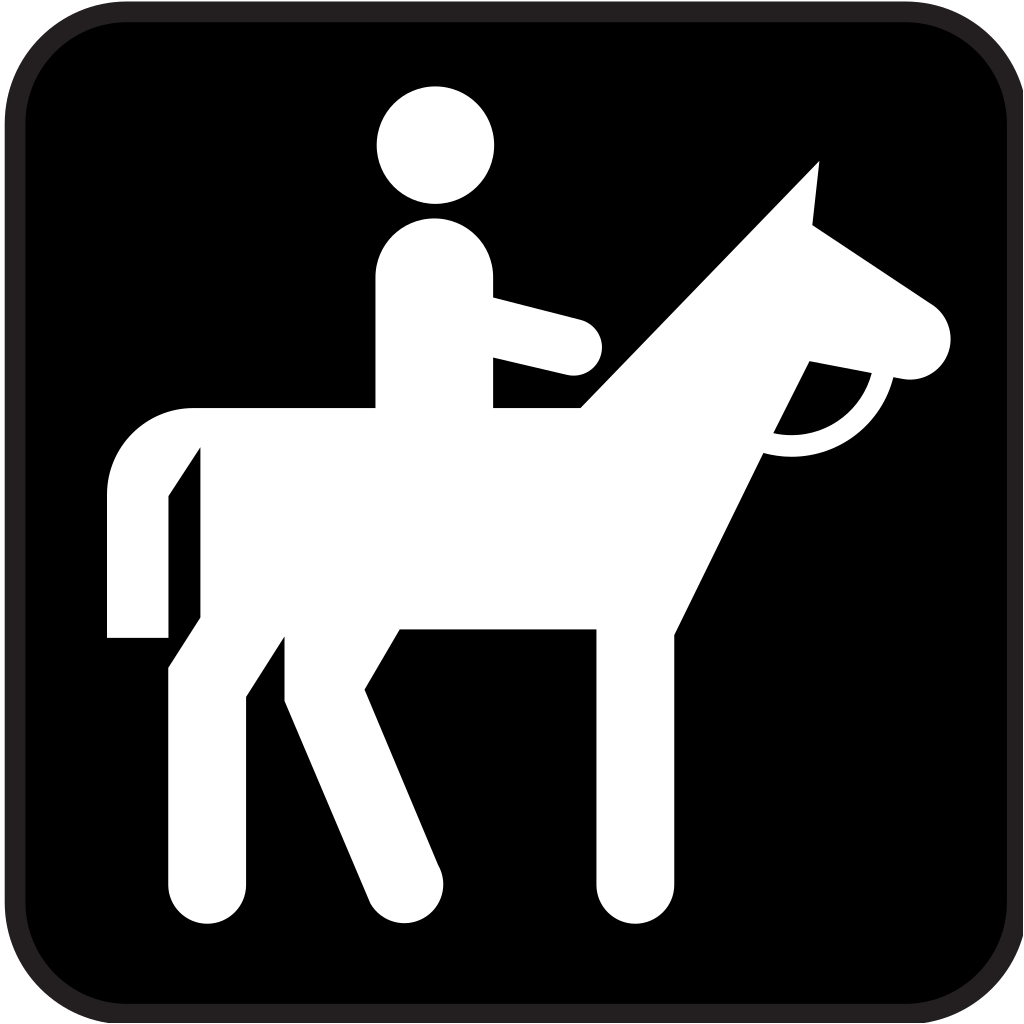 Horse Back Riding 2 SVG Clip arts