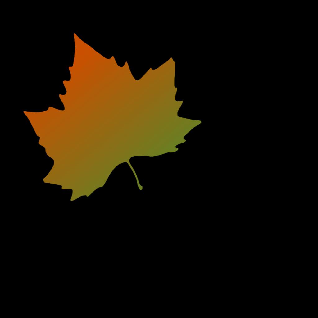 Kattekrab Plane Tree Autumn Leaf SVG Clip arts