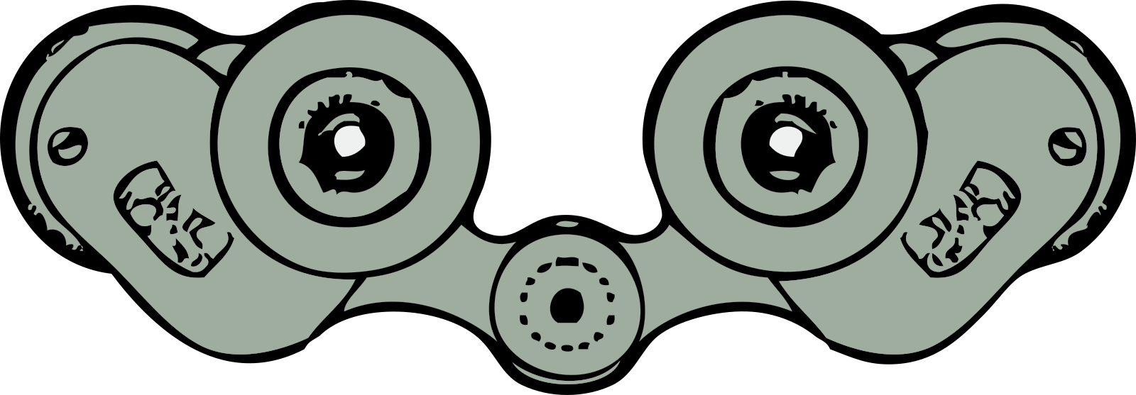 Binoculars SVG Clip arts