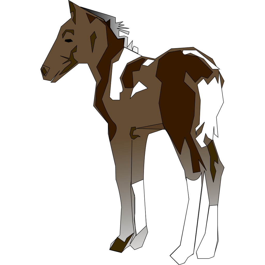 Pony SVG Clip arts