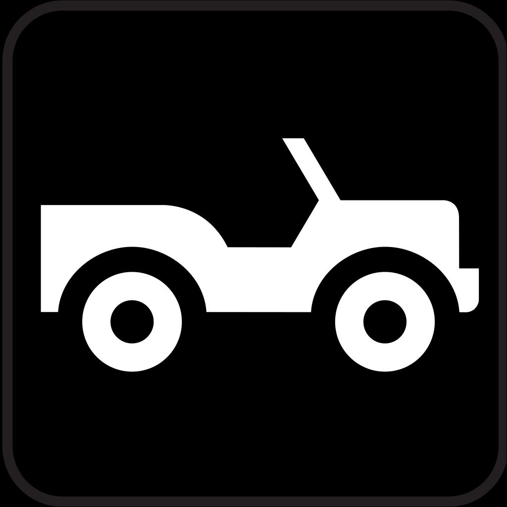 Jeep Truck Car SVG Clip arts