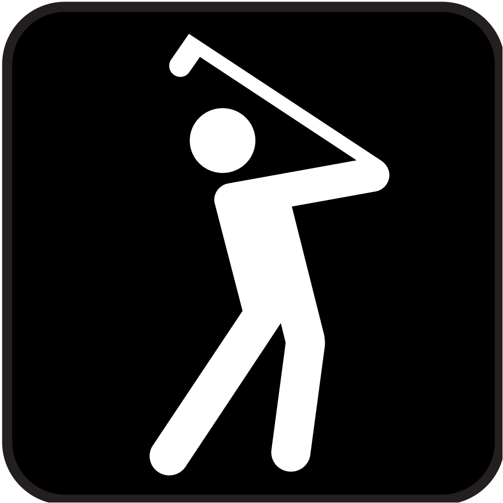 Golf Course SVG Clip arts