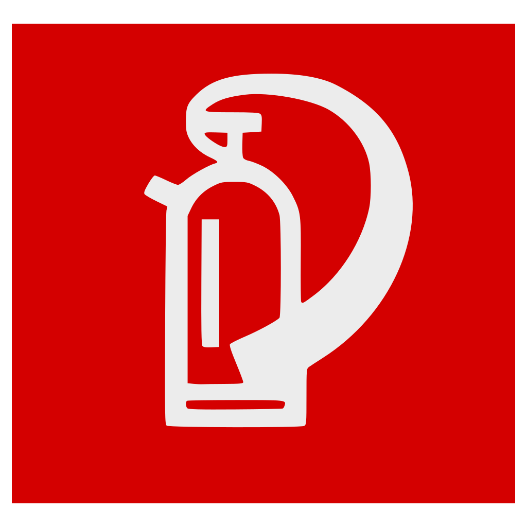 Fire Extinguisher White SVG Clip arts