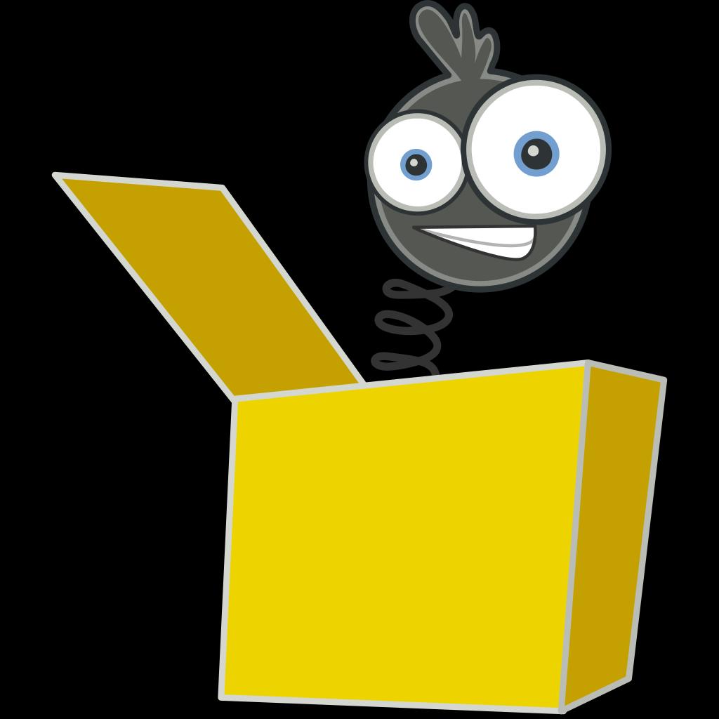Jack In The Box SVG Clip arts
