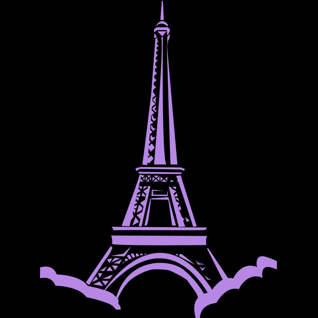 Eiffel Tower Paris SVG Clip arts