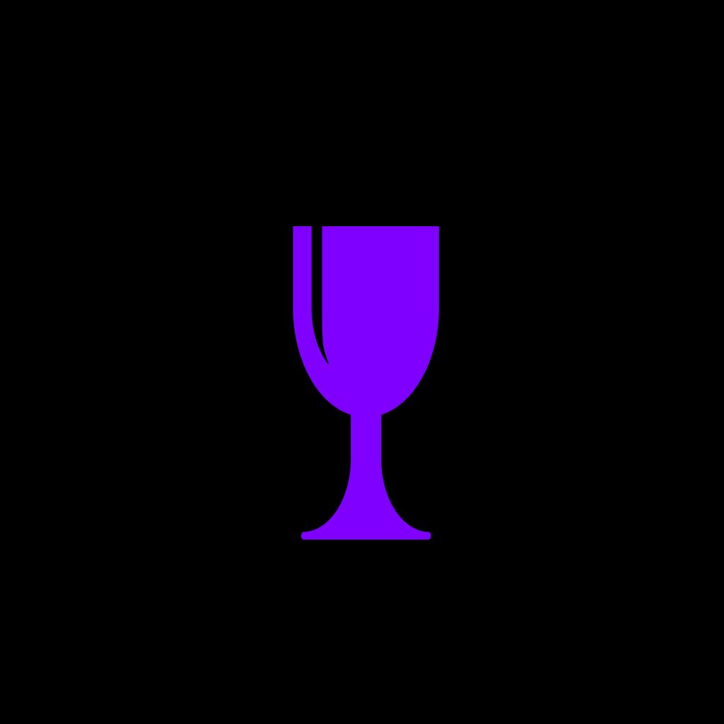 Wine Glass Empty SVG Clip arts