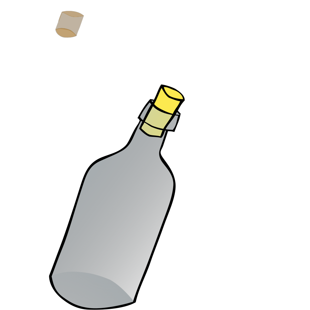 Bottle 1 SVG Clip arts