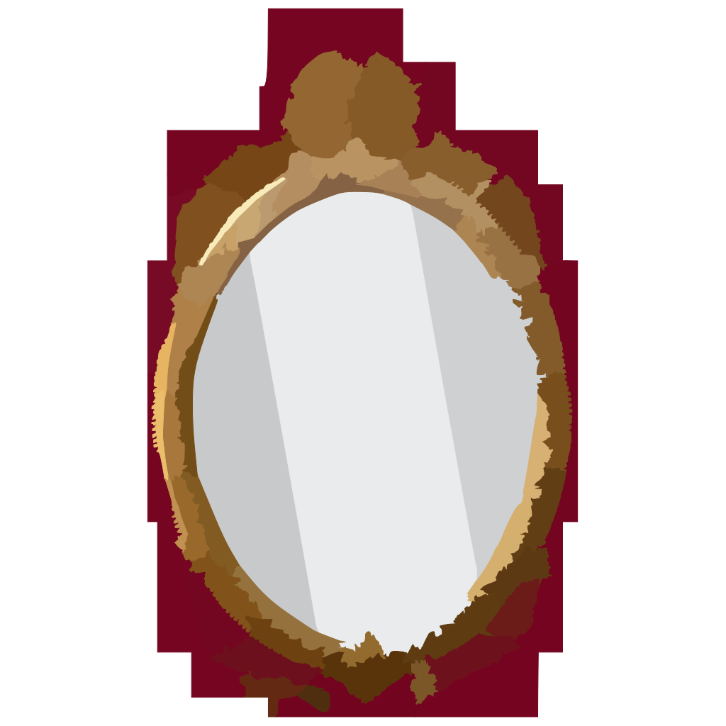 Mirror D SVG Clip arts