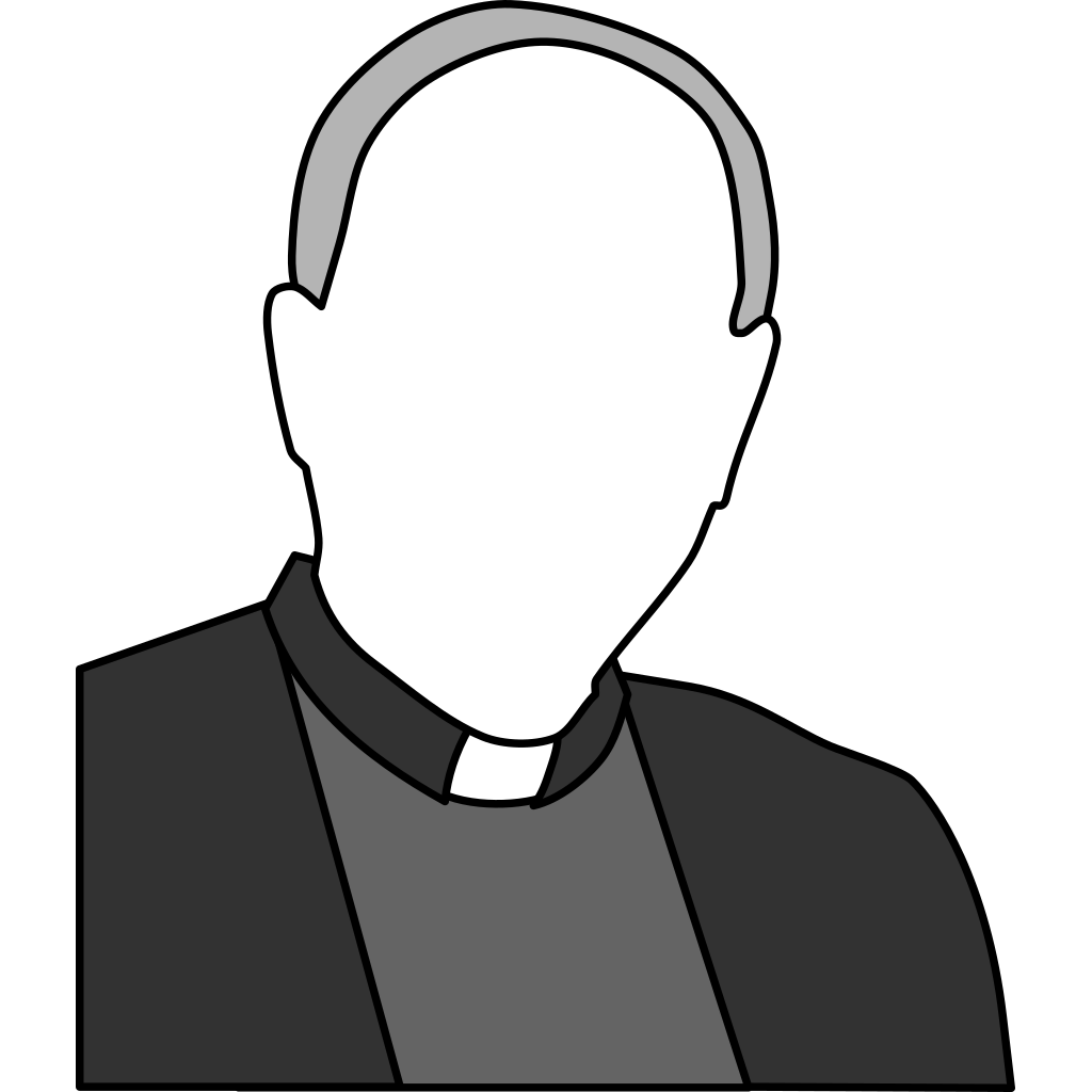 Priest  SVG Clip arts