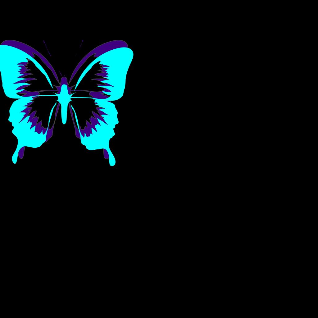 Butterfly Flower Clip ArtFlower And Butterfly Border Clip Art