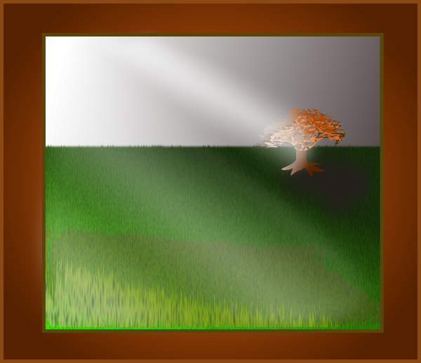 Simple Scenery SVG Clip arts