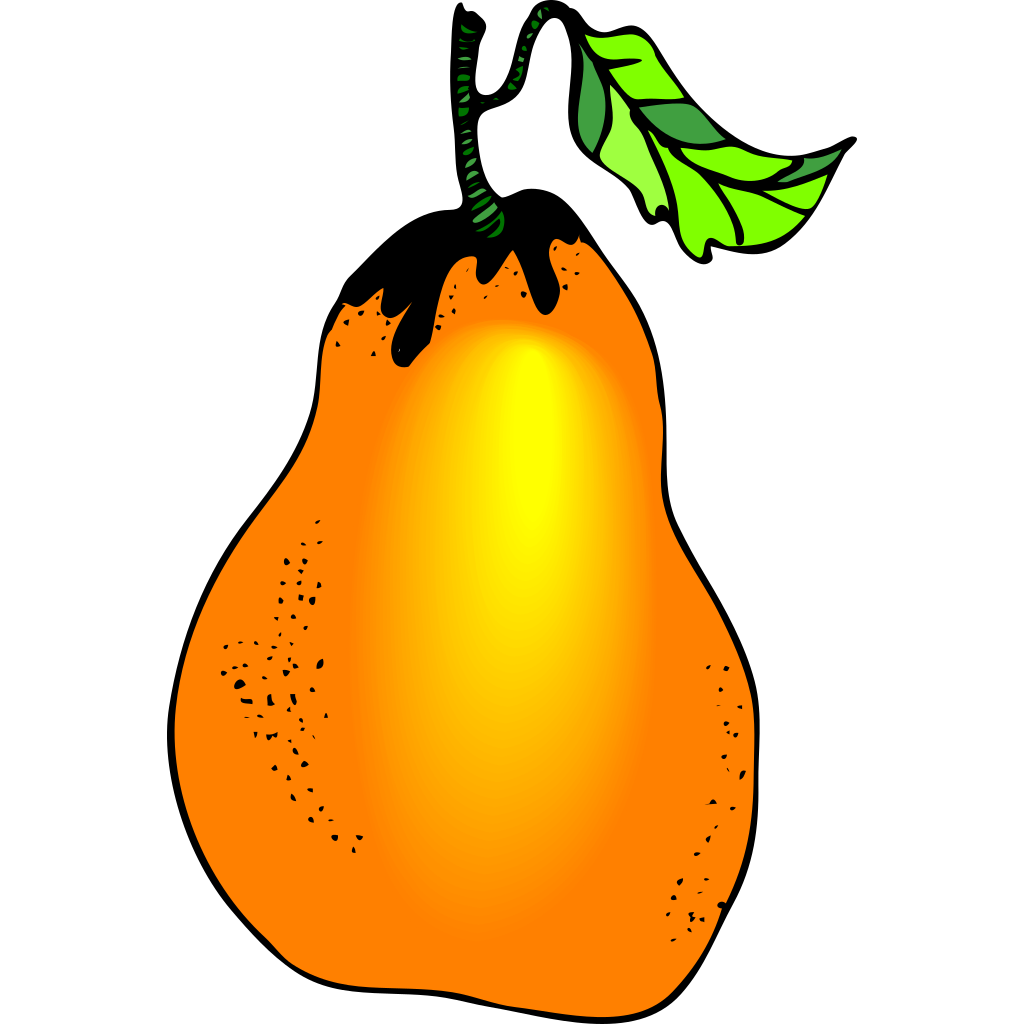 Pear SVG Clip arts
