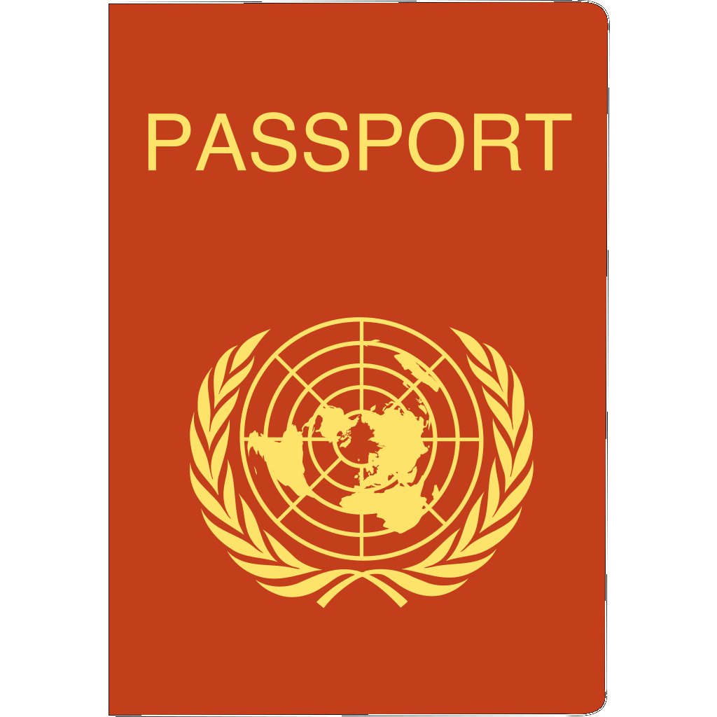 Passport SVG Clip arts