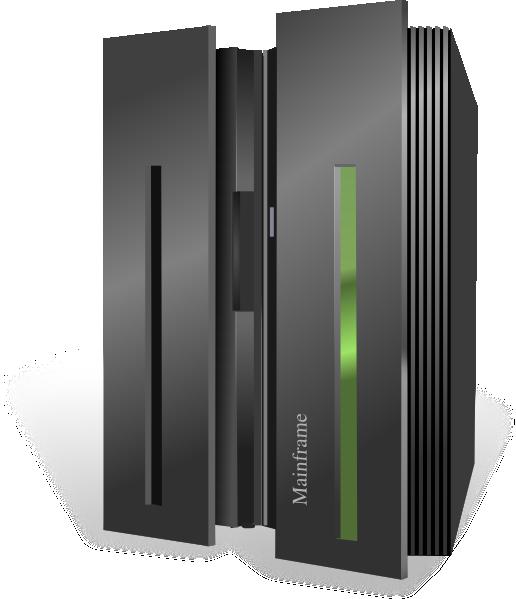 Mainframe Server SVG Clip arts