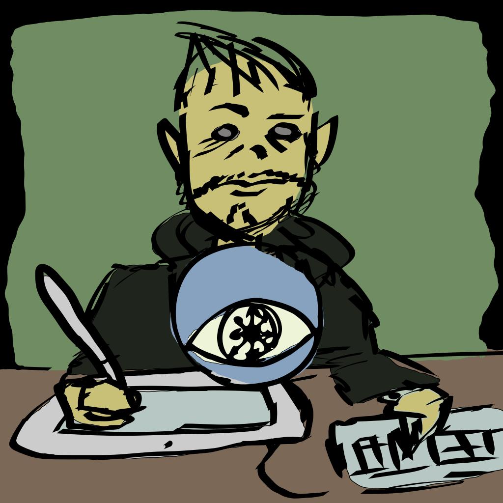 Cartoon Monsters 1 SVG Clip arts