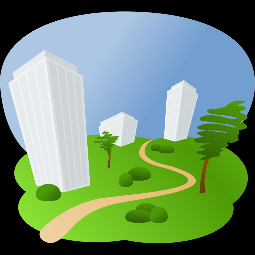 Buildings SVG Clip arts