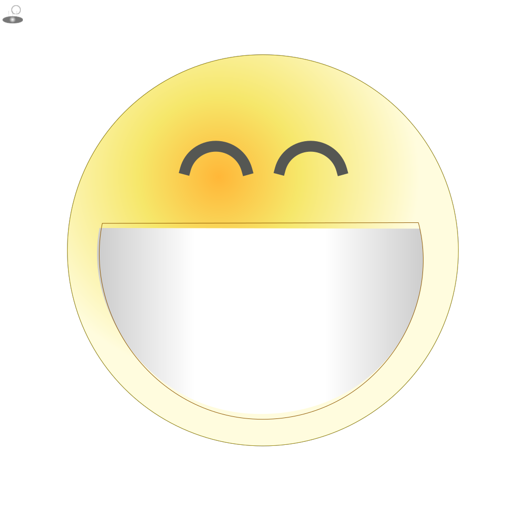 Face Grin SVG Clip arts