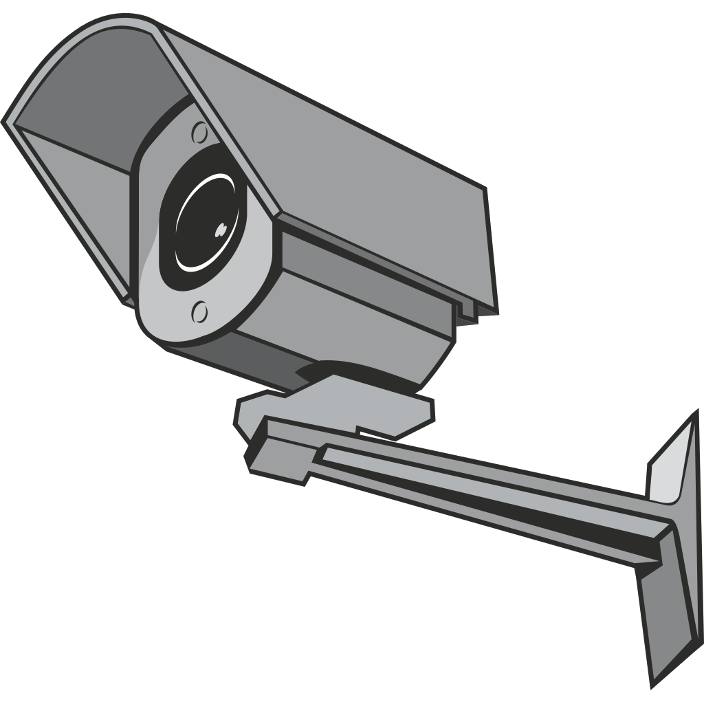 Surveillance Camera SVG Clip arts