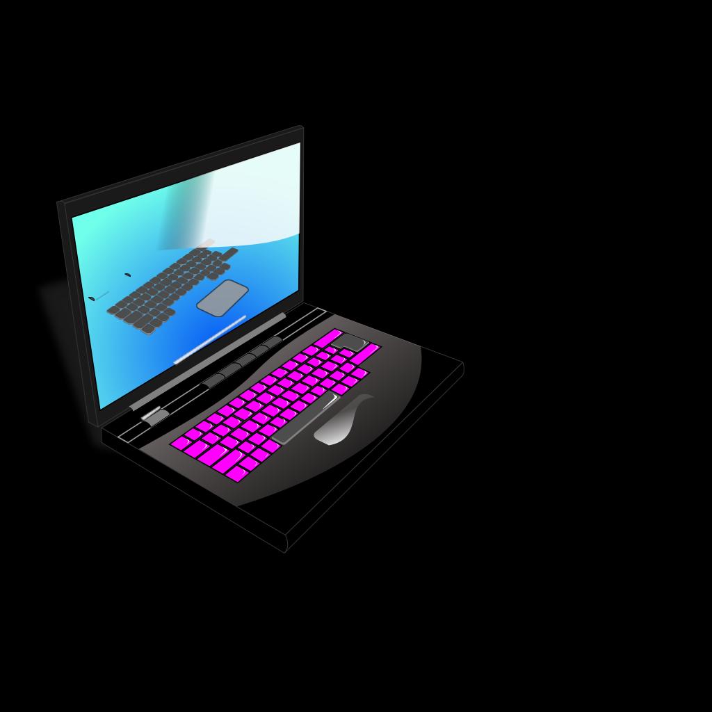 Laptop SVG Clip arts