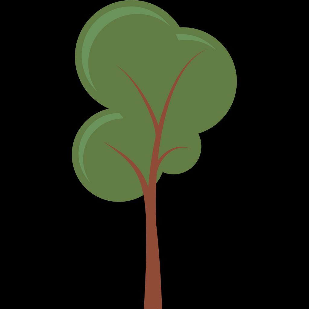 Cartoon Tree SVG Clip arts